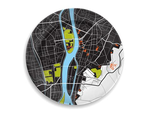 City Plates By Notneutral by Notneutral City Plates Designtodesign Magazine