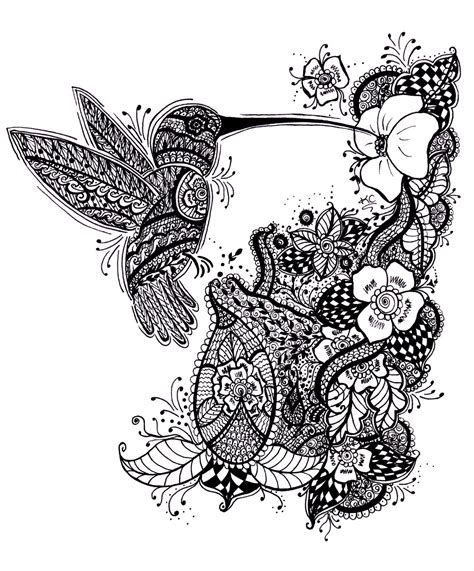 black and white henna tattoo designs tattoos of humming bird hummingbird black and white