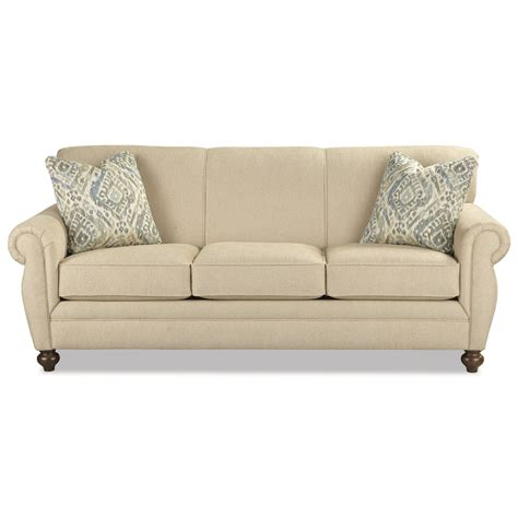 Sofa Excel craftmaster 7679 traditional memory foam sleeper sofa with