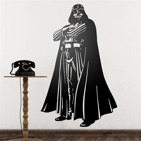 darth vader wall sticker wars wall stickers muraldecal