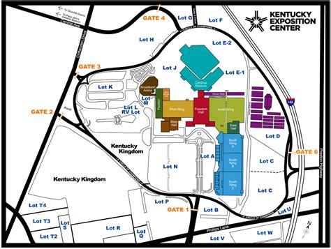 kentucky fairgrounds map map of kentucky exposition center swimnova