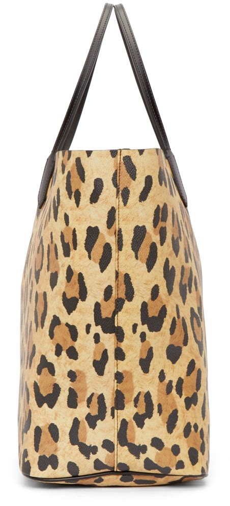 Lucretia Leopard lyst givenchy mini lucrezia leopard tote