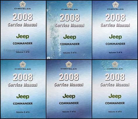 service manual 2008 jeep commander owners manual pdf jeep commander xk 2006 2007 2008 2009 2008 jeep commander repair shop manual set original