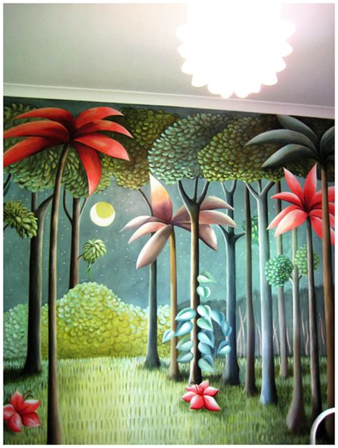 where the things are wall mural the design files pacquita maher wall murals