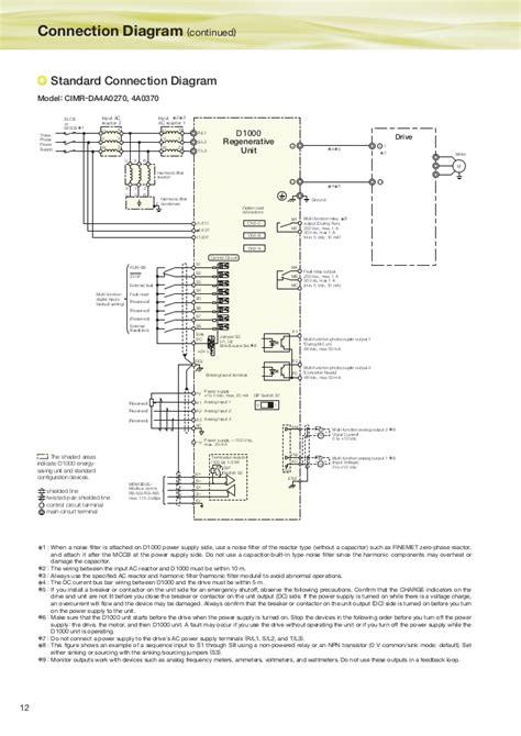 yaskawa z1000 wiring diagram yaskawa z1000 tech support
