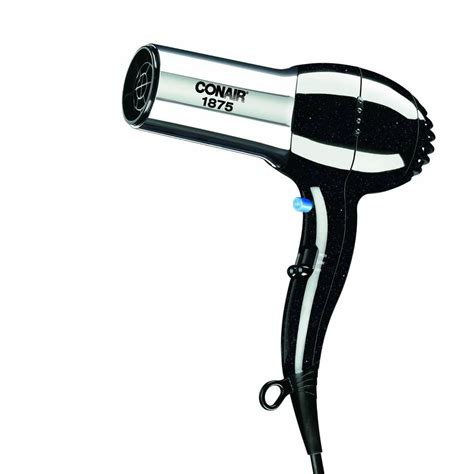 Ionic Hair Dryer With Attachments conair ionic 1875 watt turbo hair dryer 256r the home depot