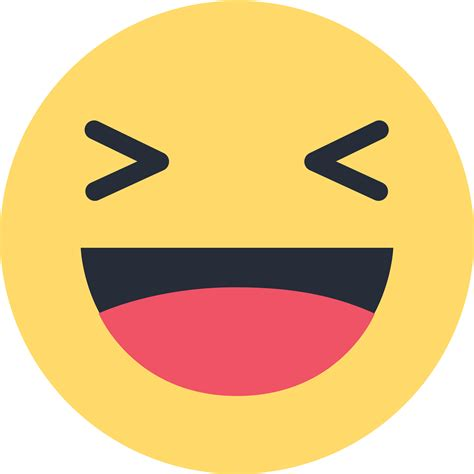 emoji like facebook haha emoji like png transparent background
