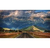Nature Landscape New Zealand Mountain Clouds Hill