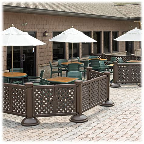 Grosfillex Patio Furniture Grosfillex Portable Patio Fence National Hospitality