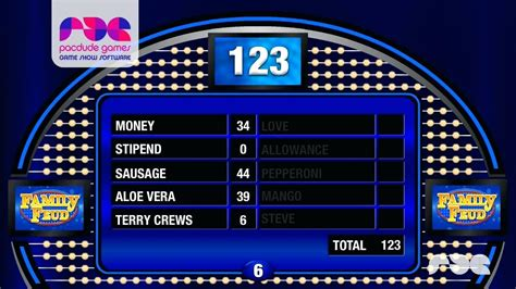 family fued template template powerpoint template family feud