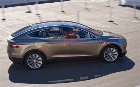 Teslas Model X Tesla Model X Prototype Preview Ride Motor Trend