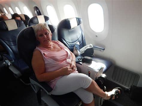 premium club dreamliner photo de tui fly belgium