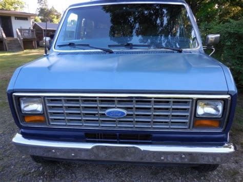how to work on cars 1986 ford e series auto manual classic 1986 ford e series van e150 club wagon xlt excellent shape for sale detailed