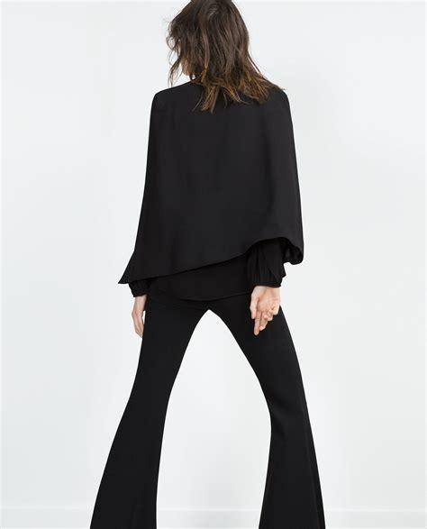 Cape Blazer Zara Cape Jacket Collection Zara Spain