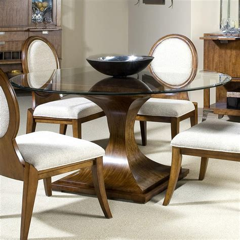 round glass dining room table dining table furniture round glass top dining table