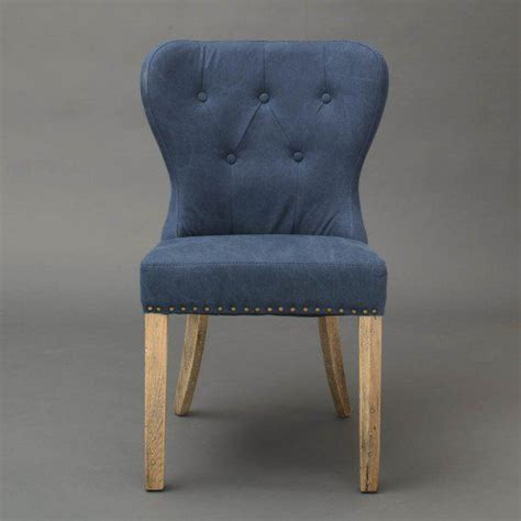 blue wood dining chairs blue paulie upholstered dining chair horizon home furniture