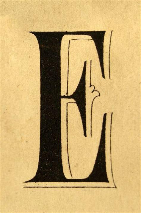 design system e font e lettering type alphabet font design vintage retro