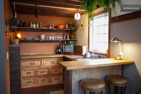 Tiny House Kitchen Cabinets The Rustic Modern Tiny House
