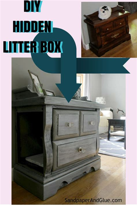 Cat Litter Box Furniture Diy by 25 Best Ideas About Litter Boxes On