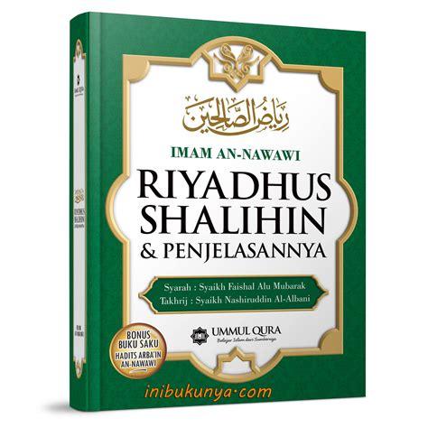 Buku Kitab Syarah Riyadhus Shalihin 1 Set 6 Jilid jual riyadhus shalihin toko alvia