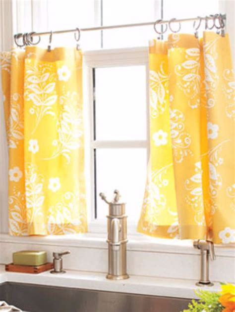 how to hang cafe curtain rods 31 awesome ways to use tension rods in your home page 3