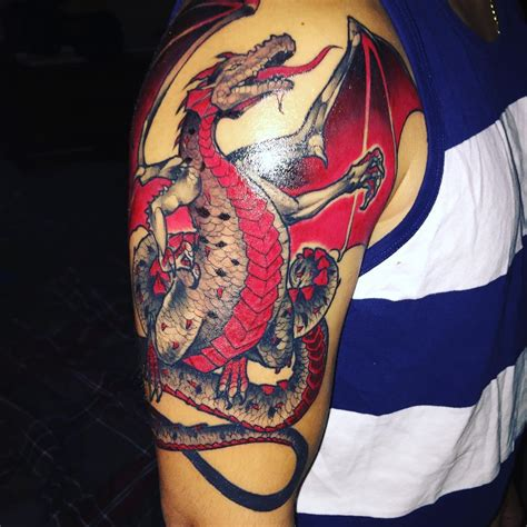 dragon tattoo images 75 unique designs meanings cool