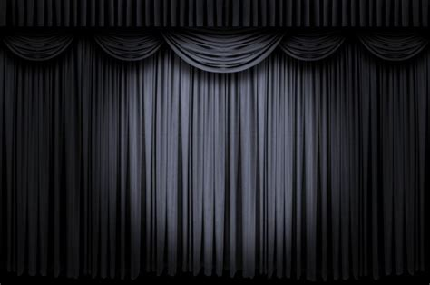 black theater curtains black curtain wallpaper wallpapersafari