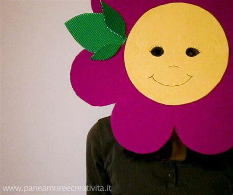 vestito carnevale fiore carnevale fai da te la maschera fiore funlab