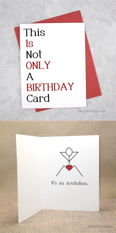 boyfriend birthday cards not only funny gift by