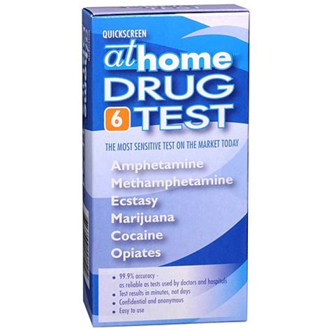 At Home Test by At Home Test 6 Panel Walgreens