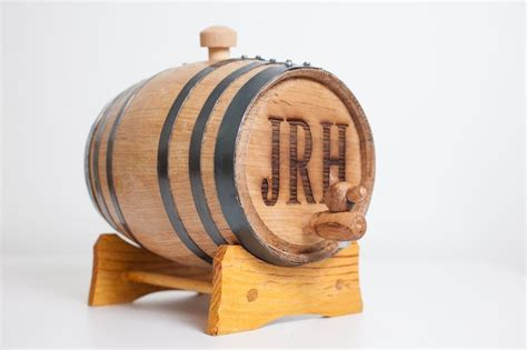 How To Make A L From A Whiskey Bottle by Engraved 2 Liter Mini Whiskey Barrel For By Themanregistry