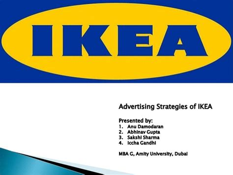 One Minute Mba Ikea by Ikea Advertising Strategies