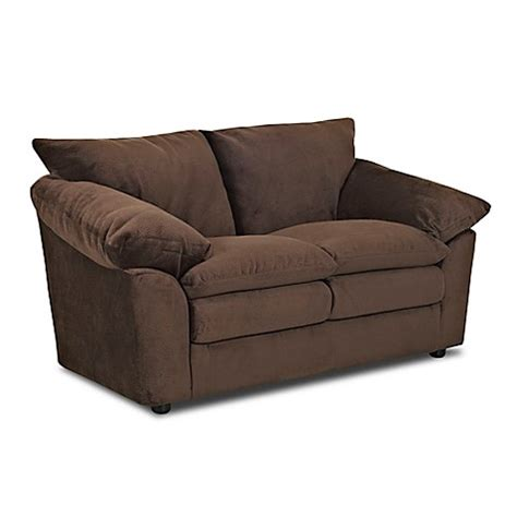 klaussner heights sofa klaussner 174 heights polyester loveseat bed bath beyond