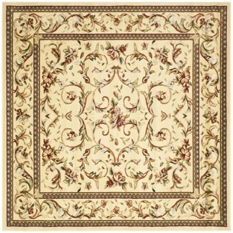 gt cheap safavieh hudson collection noho tufted brown square area rugs safavieh cambridge coralivory 6 ft x 6 ft square area rug nourison