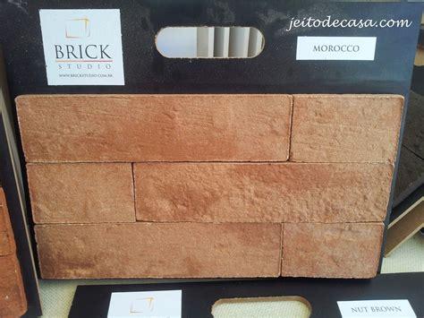 azulejo que imita tijolo materiais de revestimento que imitam tijolinho a vista