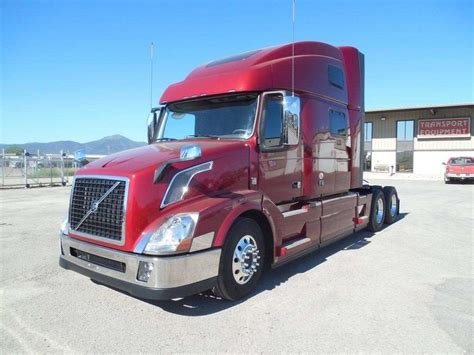 volvo semi trailer 2018 volvo vnl64t780 sleeper semi truck for sale spokane