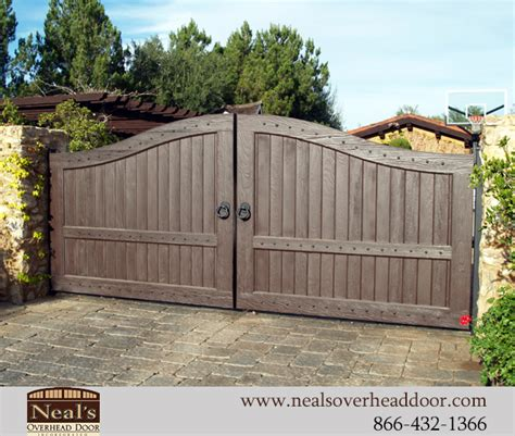 Contemporary Garage Designs neals custom wood gates designers and installation