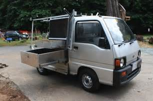Mini Truck Wheels For Sale 1991 Subaru Sambar Mini Truck 4x4 Outside