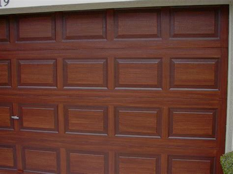 paint a metal garage door to look like wood everything i create paint garage doors to look