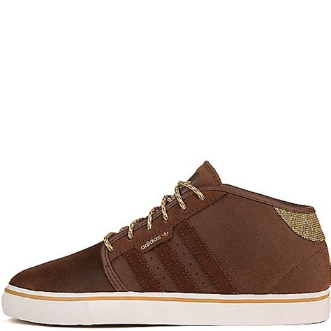 Adidas Casual Browni adidas seeley mid s brown casual lace up sneakers shiekh shoes