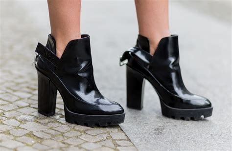 7 Pairs Of Platforms For Fall by Booties With Chunky Heel Heels Zone