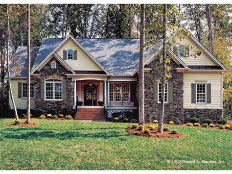 cottage style porch for ranch homes cottage house plan with 2097 square feet and 4 bedrooms