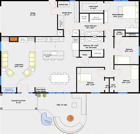 40x60 Shop Floor Plans