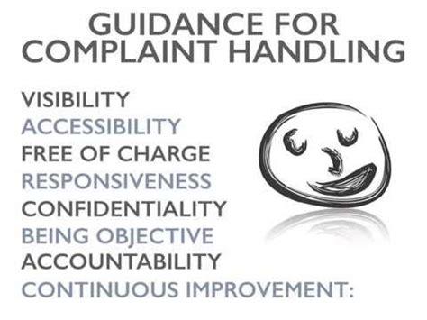 Handling A Complaint Letter Customer Iso 10002 Customer Complaint Handling