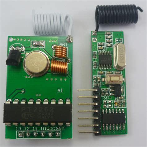 315mhz Rf Remote Module Pt2262 Pt2272 4 Channel Remote Button dc 12v 315mhz pt2262 encoder decoder rf wireless link kit