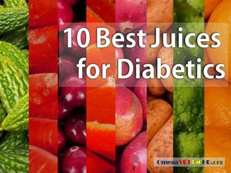 Juicing Detox For Diabetics by 10 Best Juices For Diabetics