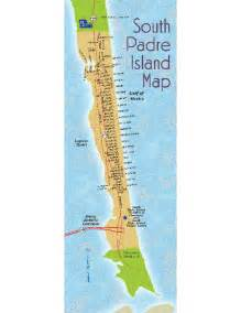 map of san padre island south padre island map south padre island mappery