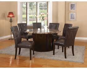 sale 872 00 danville 54 quot round marble top dining table