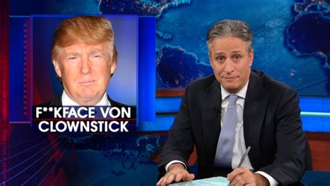 donald trump real name donald trump lashes out at jon stewart for revealing his