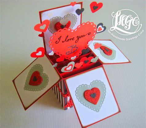 Handmade I You Cards - azlina abdul i you b